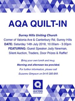 AQA 2018 Quilt-in