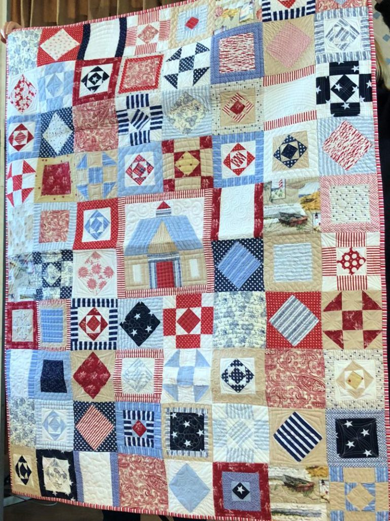 Members quilt show and tell 2