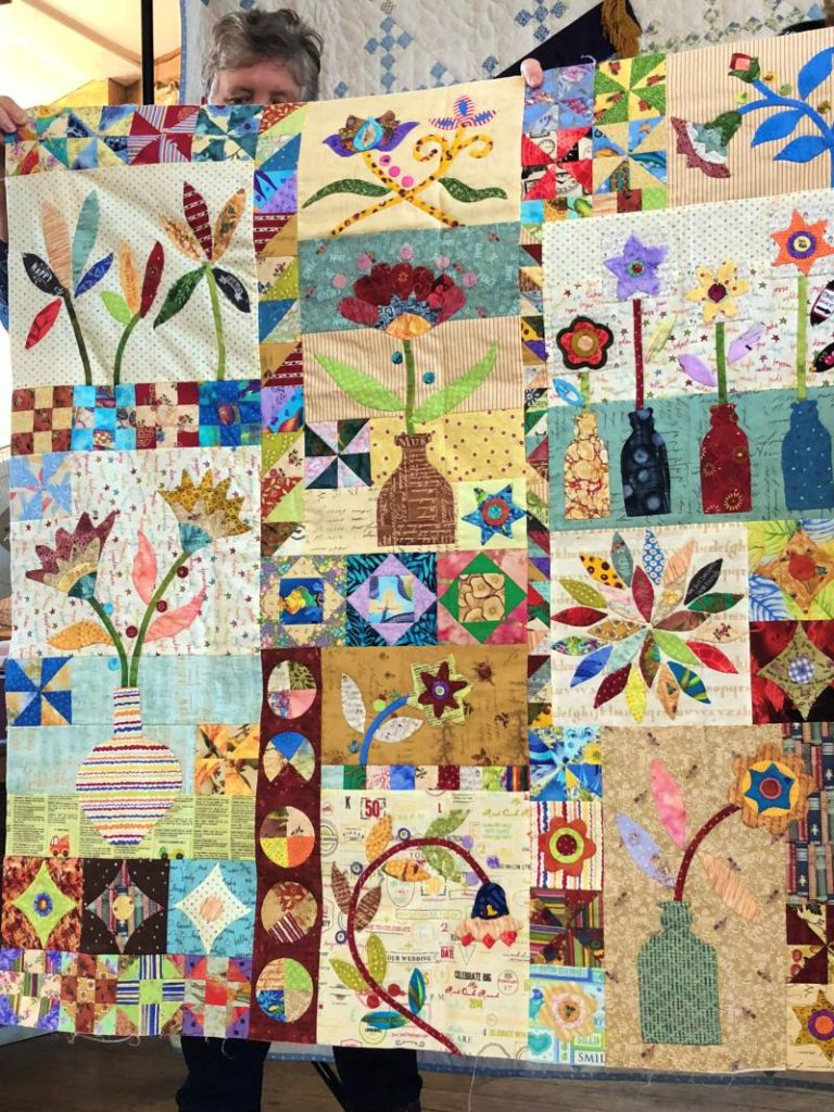 Members quilt show and tell 3